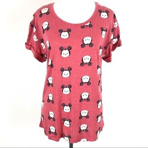 Disney Chibi Funko Style Minnie Mouse Graphic Tee